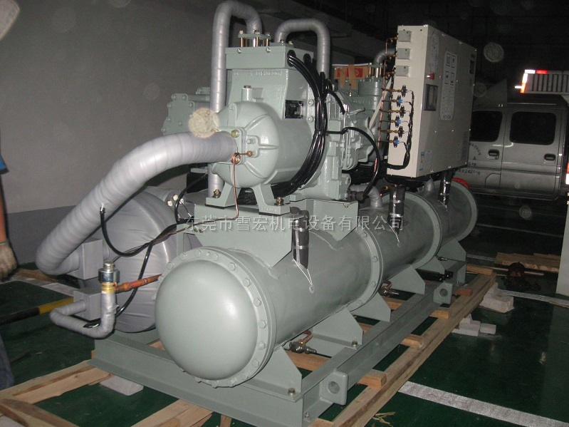 在日立水冷标准系列机组原有规格基础上推出的水冷A系列冷水机组,制冷量从135kW~818kW(38RT~233RT), 含 40HP~240HP共11个规格。东莞市雪宏机电设备有限公司长期经销日立冷水机组,日立半封闭螺杆压缩机/日立冷水机配件等,供货期快,价格合理,质量有保证。